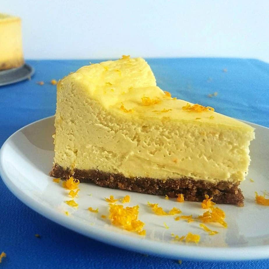 1200 1200 1 1024x1024 - Keto Creamsicle Cheesecake (1g Carb) with Zero Carb Crust