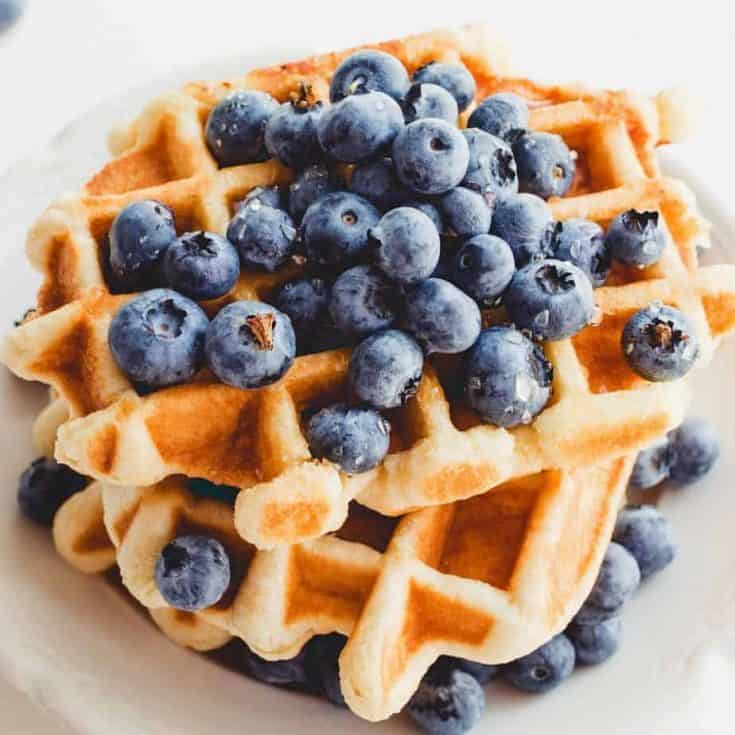 1200 1200 3 735x735 - Keto Flourless Waffles: 3- Ingredients