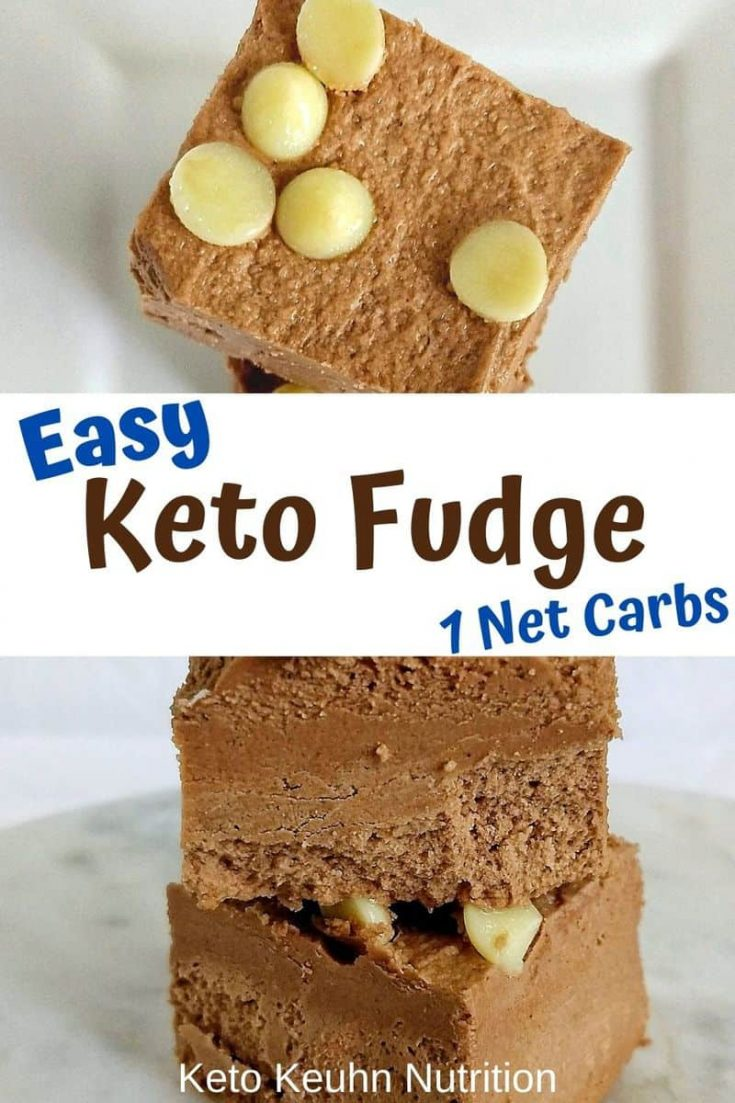 new fudge pin 735x1103 - Easy Chocolate Keto Fudge