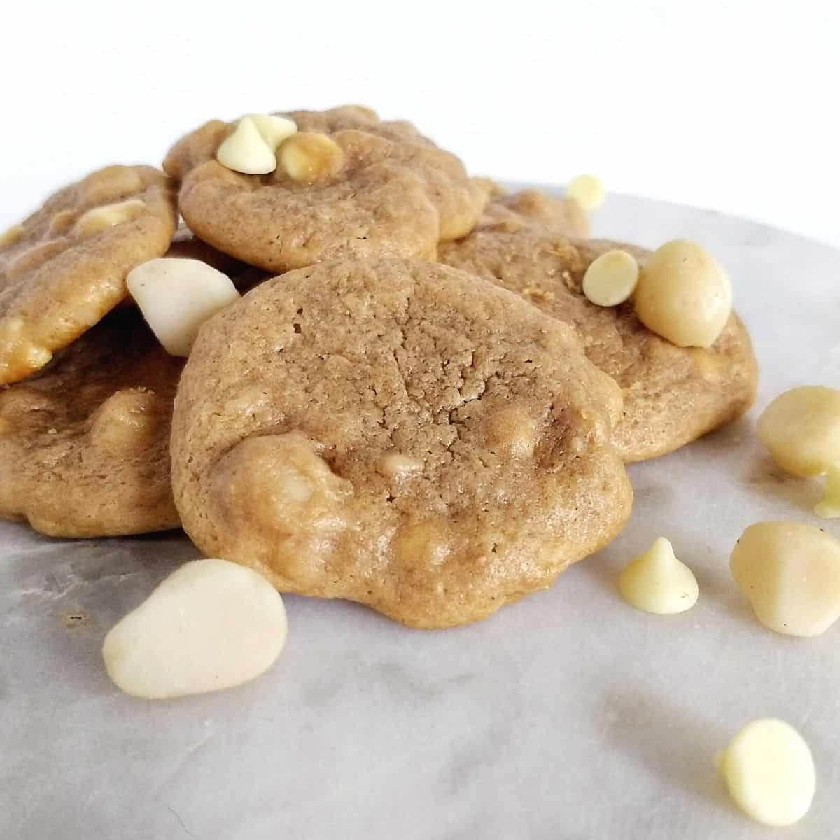 26 - Keto White Chocolate Macadamia Nut Cookies