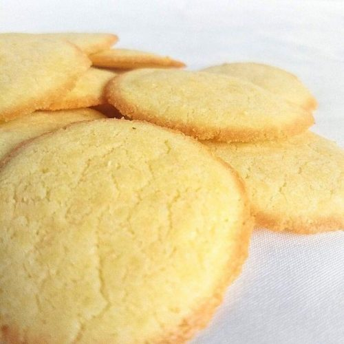 Keto Butter Cookies 500x500 - Simiple Low Carb/Keto Peanut Butter Frosting
