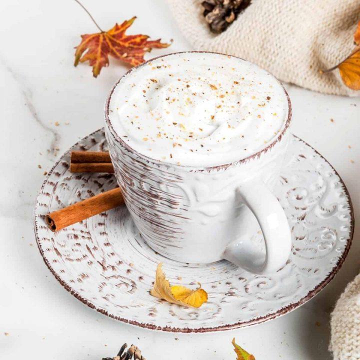 1200 x1200 featured 720x720 - Keto Pumpkin Spice Latte w White Chocolate (Optional)