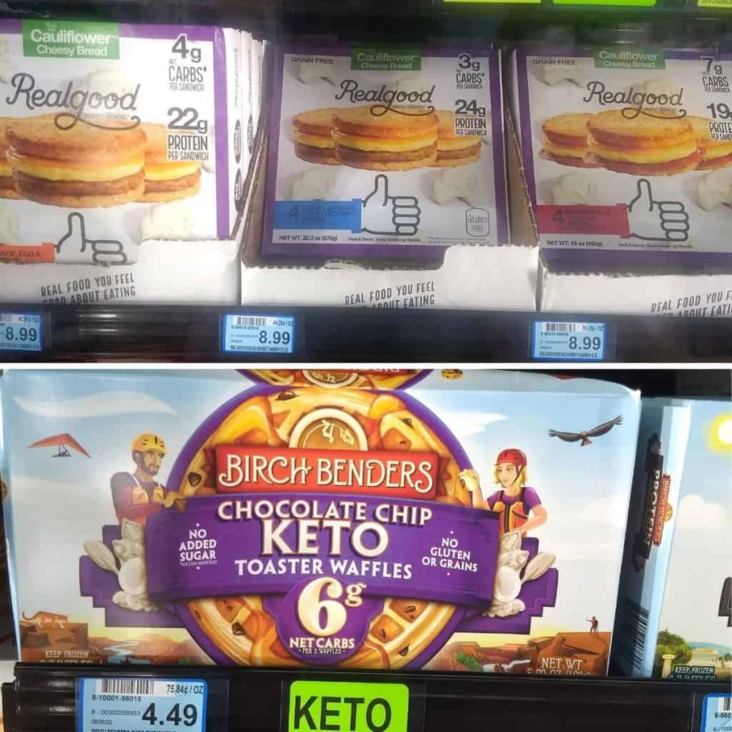 Keto Frozen Meals 1024x1024 - What to Buy for Keto at Woodman's Grocery Store