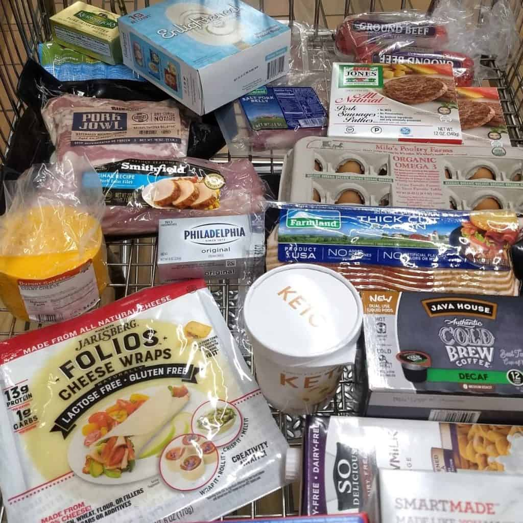 Keto Grocery Haul from Woodmans 1024x1024 - What to Buy for Keto at Woodman's Grocery Store