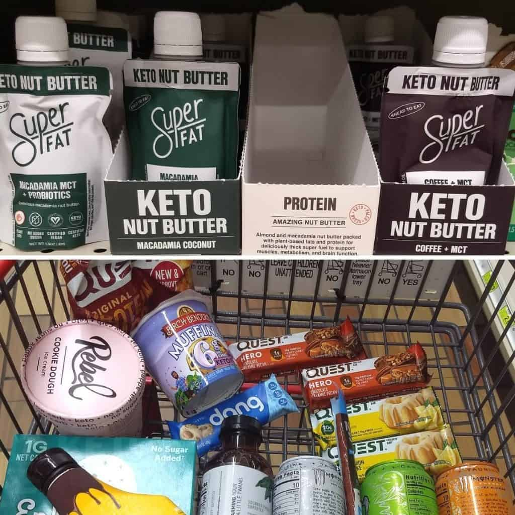 Keto Snacks Super Fat Nut Butters 1024x1024 - What to Buy for Keto at Woodman's Grocery Store