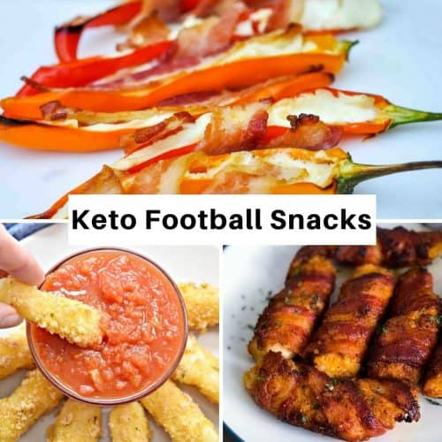 Keto football snacks 500x500 - Recipes Under 10 Total Carbs