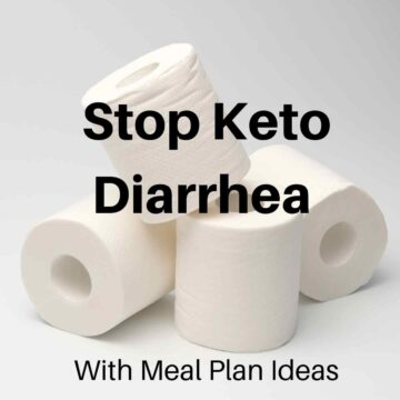 toilet paper 360x360 - Best Keto Foods For Diarrhea & What to Avoid