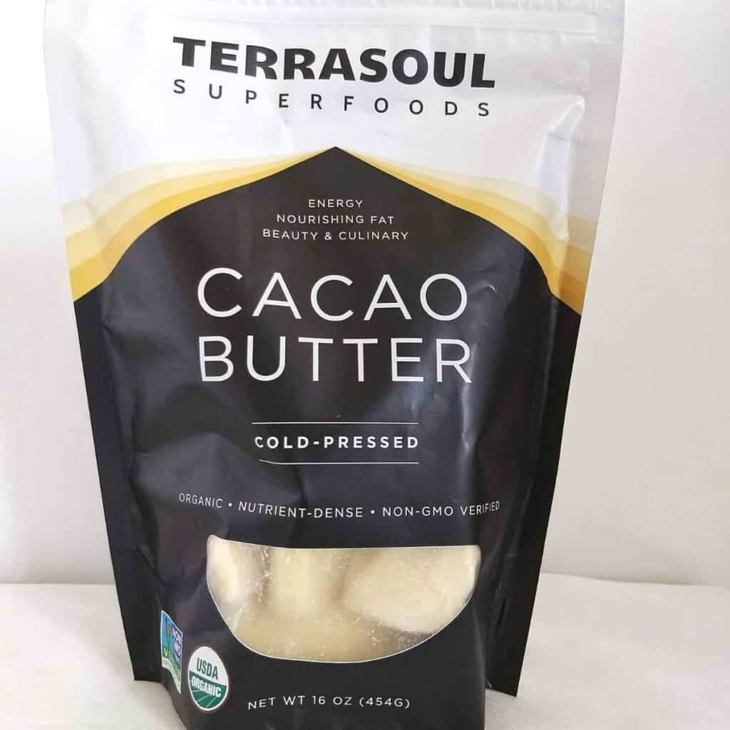cacao butter in a bag 1024x1024 - The 20 Best Keto Coffee Creamer Ideas with 6 Recipes