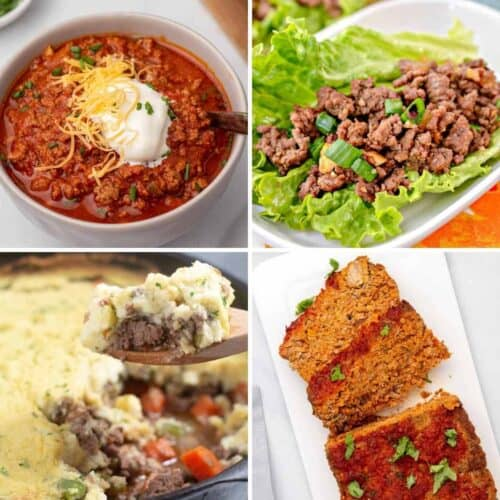ground beef recipes 500x500 - Recipes Under 10 Total Carbs