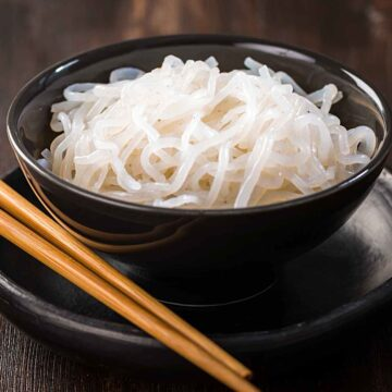 asian noodles in a bowl 360x360 - Shirataki: The True Keto Approved Asian Noodle