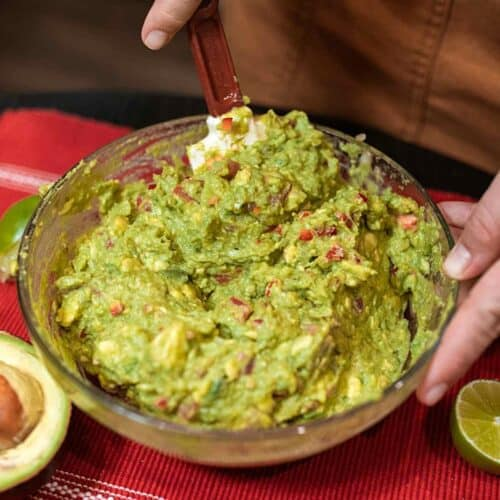 finished guacamole 500x500 - Recipes Under 10 Total Carbs