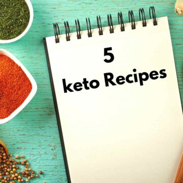 5 recipes to stay full 360x360 - 5 Keto Recipes that Will Fill You Up
