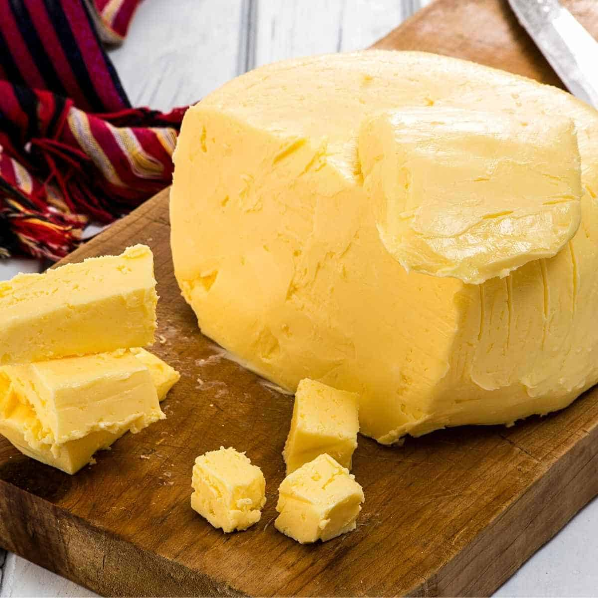 ball of butter with pieces - Eating Sticks of Butter on Keto: A Nutritionist and a Dr. Way In