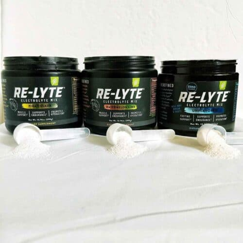 3 re lyte electrolyte drink mix 500x500 - Recipes Under 10 Total Carbs