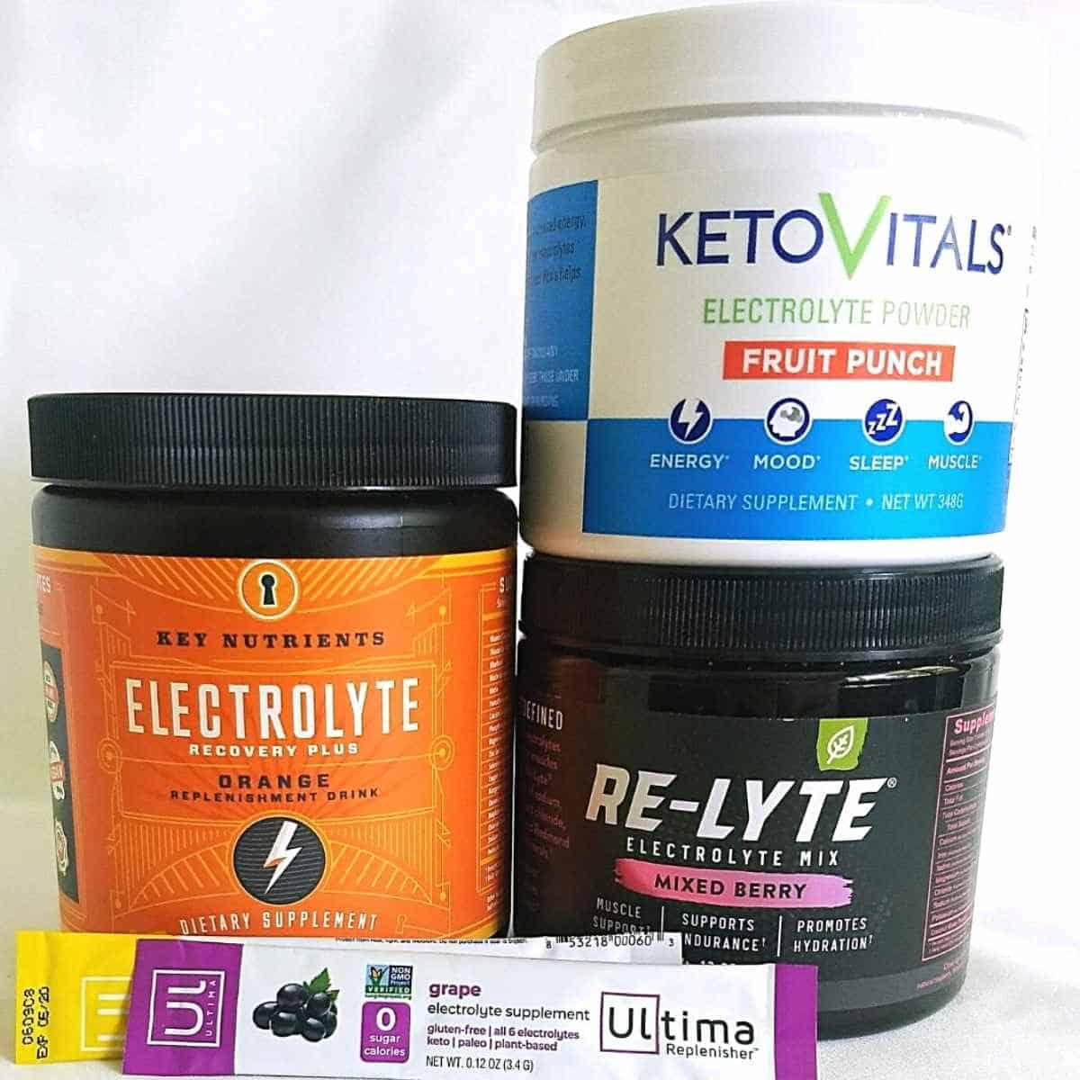 4 brands of electrolyte mixes - Re-Lyte Electrolyte Drink Mix: Review