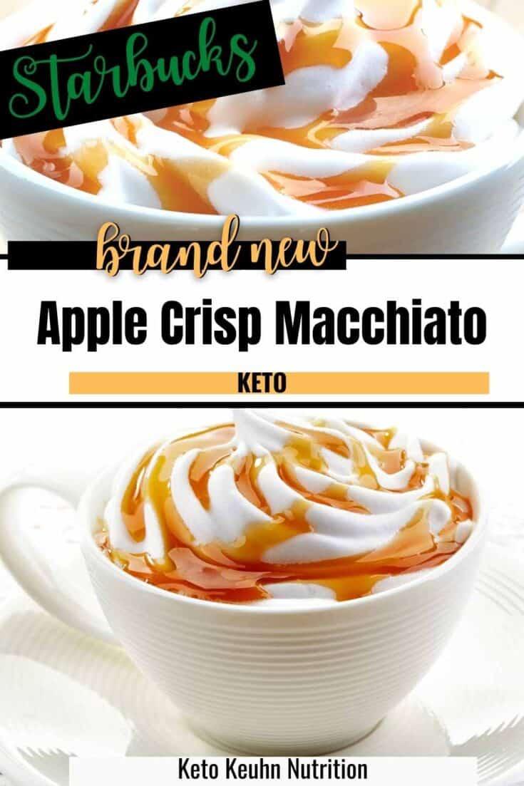 keto apple crisp macciato copycat from starbucks 735x1103 - Healthy Keto Apple Crisp Macchiato from Starbucks