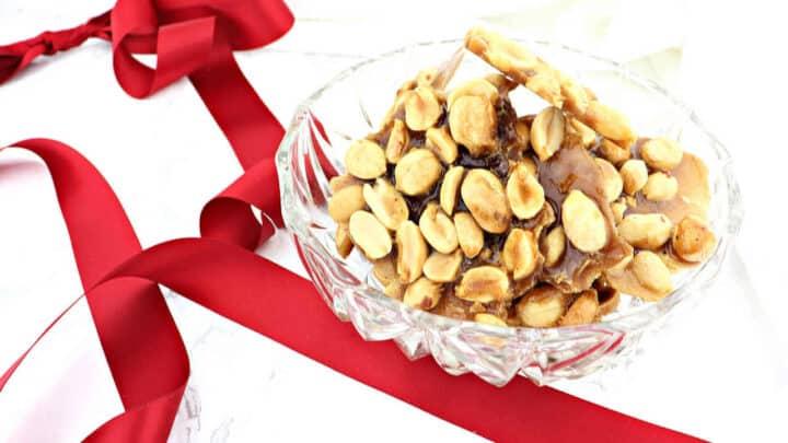 Keto Peanut Brittle feature 720x405 - Keto Christmas Crack Recipes & Ideas