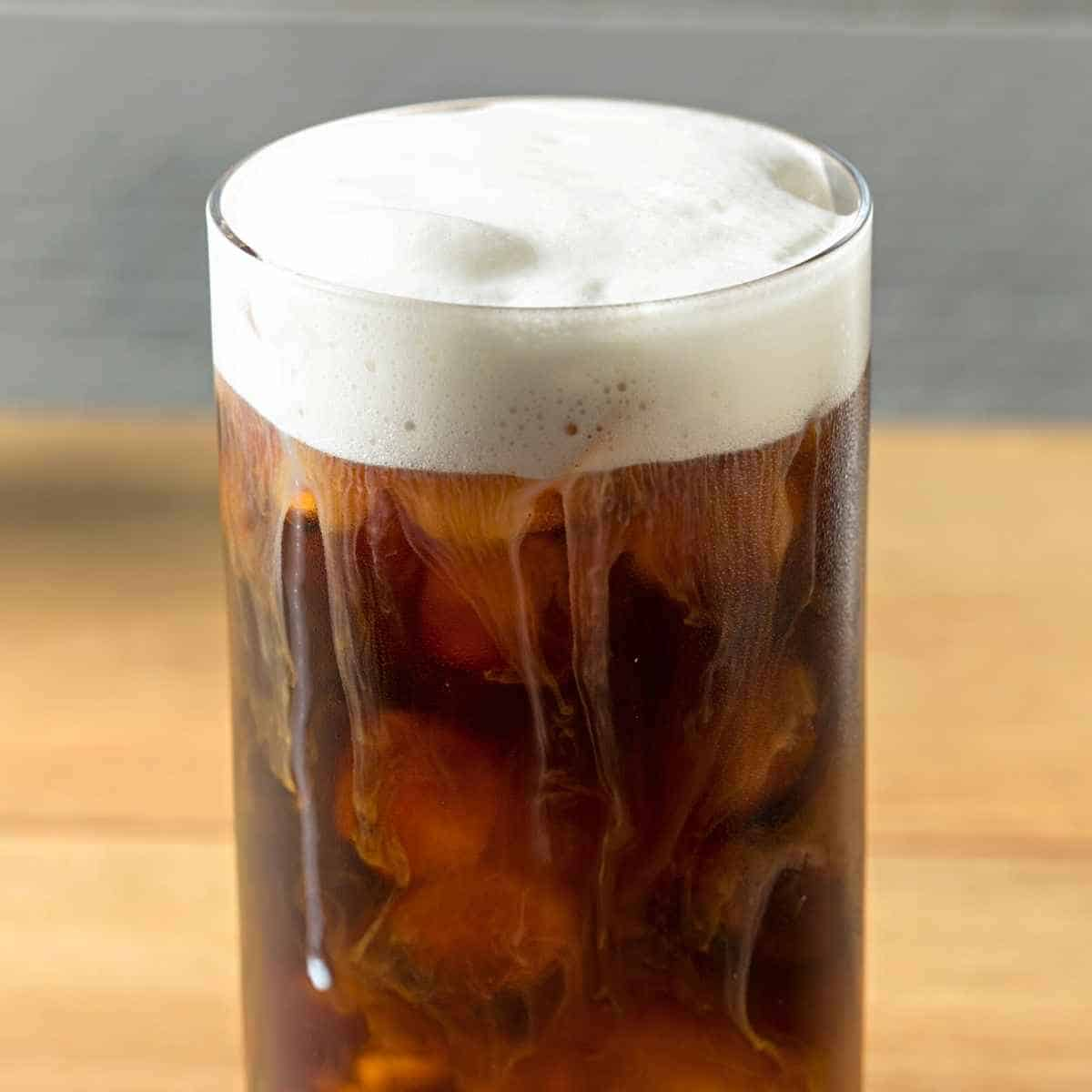cold foam on top of coffee 1 - Keto Cold Foam: Everything You Need to Know
