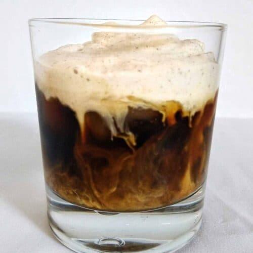keto cold foam pumpkin brew 500x500 - Keto Chocolate Pumpkin Muffins with Spiced Buttercream Frosting (w video)