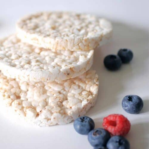 rice cakes with berries 500x500 - Keto Resources